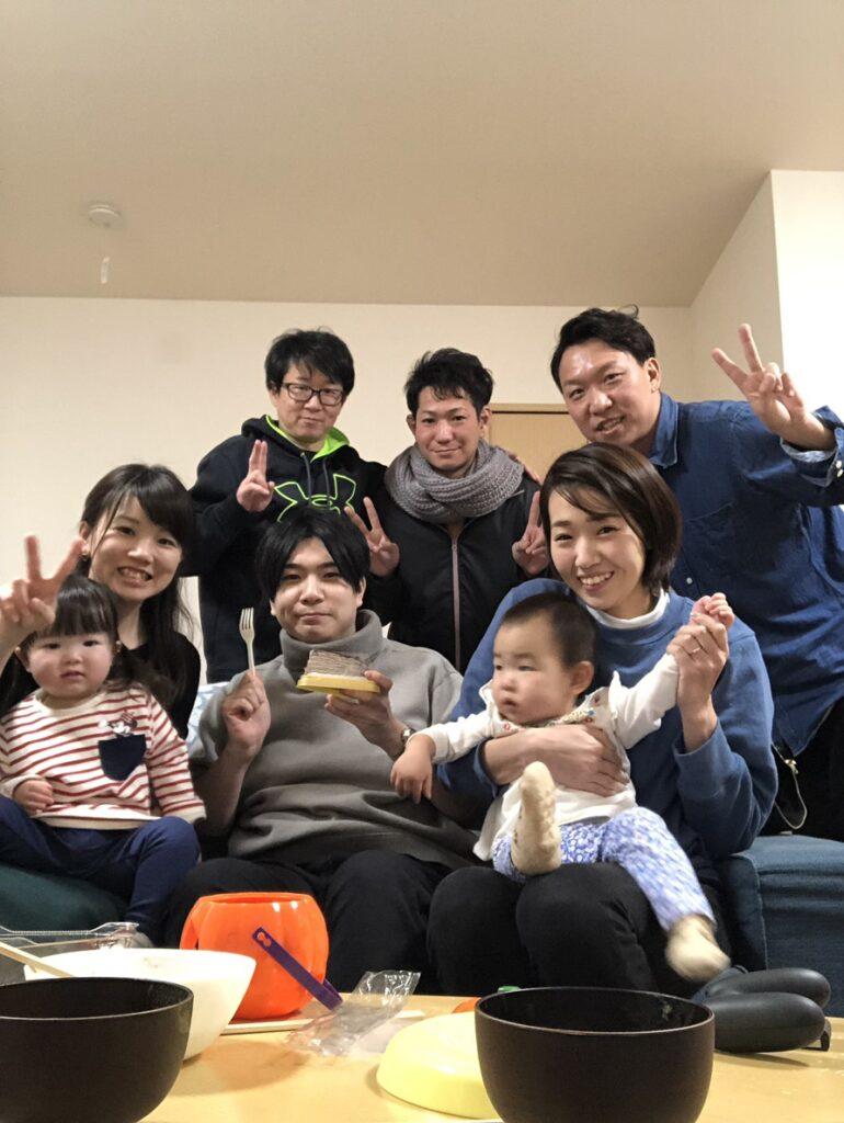 田柄スイミングのメンバーで